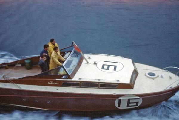 A' Speranziella - vincitrice Cowes -Torquay 1963
