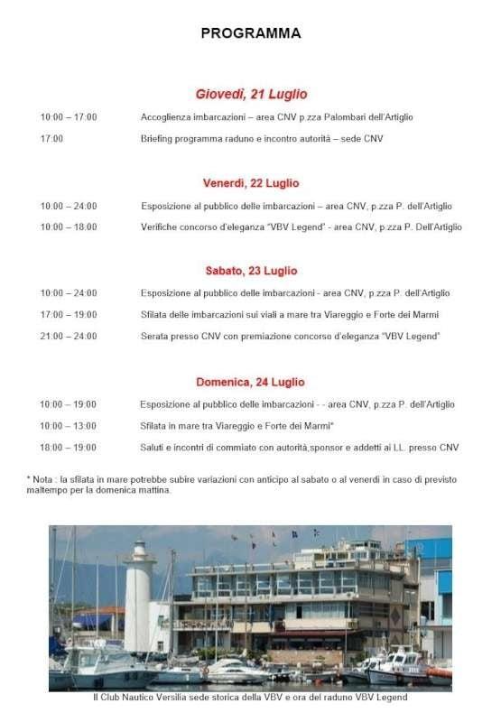 Programma VBV 2016