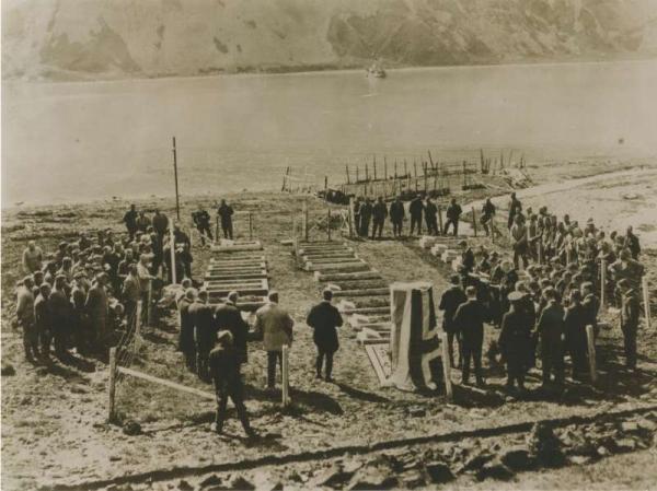 Shackleton funeral