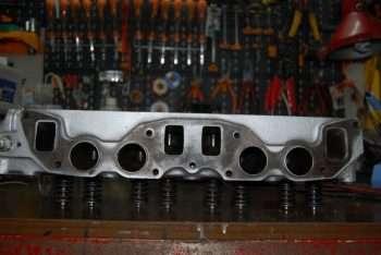 Testata motore B20 Volvo Penta lato collettori