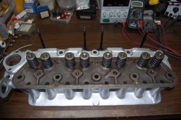 testata motore B20 Vovo Penta revisionata