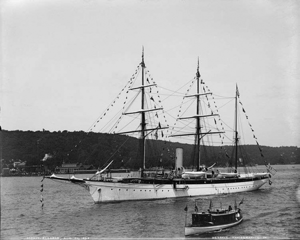 Eleanor steam yacht