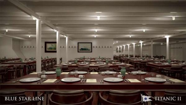 Titanic II Third Class DiningHR