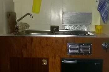 cucinino - frigo -lavello