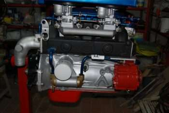 Restauro motore AQ 130 Volvo Penta