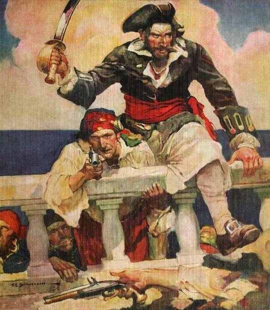 Blackbeard buccaneer