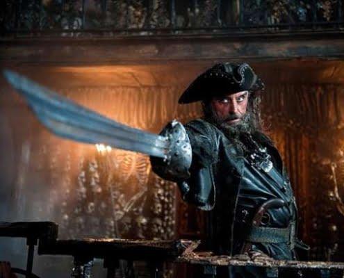 Pirata Barbanera, un vero terrore dei mari di Tealdo Tealdi