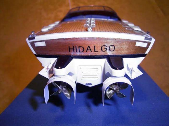 Modellismo navale: Delta Hidalgo realizzata da Alex Skerlji