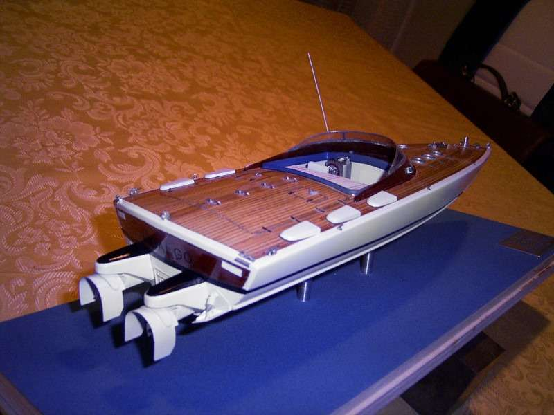 Delta Hidalgo, modellino navale