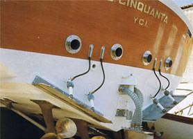 Barca G. Cinquanta fatta costruire da Agnelli