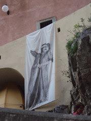 Fiordo di Furore ricordo di Anna Magnani