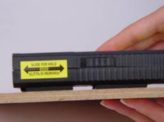 Skinder - tamponi di appoggio per misurazioni di umidità e temperatura