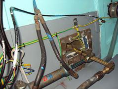 pistone idraulico timoneria