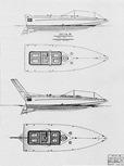 Delta 28' disegni con e senza timone aereo