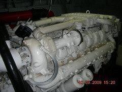 MAN 1000 HP turbo diesel