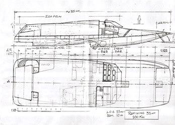 Disegno Harrauer Ram Wing 100