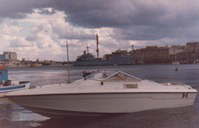 barca contrabbandiera ormeggio