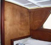 Restauro barca in legno