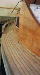 Restauro barca d'epoca legno