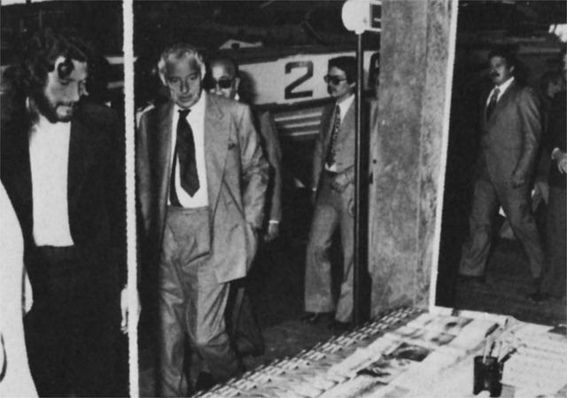 Gianni Agnelli stand Mondo Sommerso