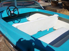 Motoscafo Sessa anni 60' d
