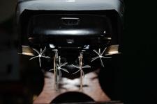 Modello-Vedetta-Veloce-V6011-vista gruppi propulsivi-step-drive-timoni