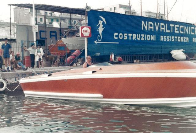 Canav Anzio: Pierino ai comandi di G50