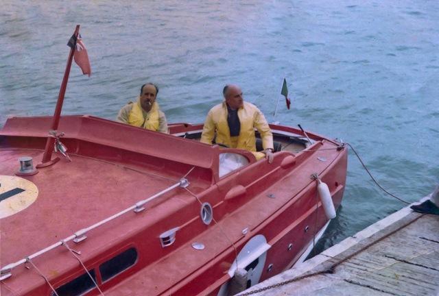 Pierino e C.te Petroni su A'Speranziella
