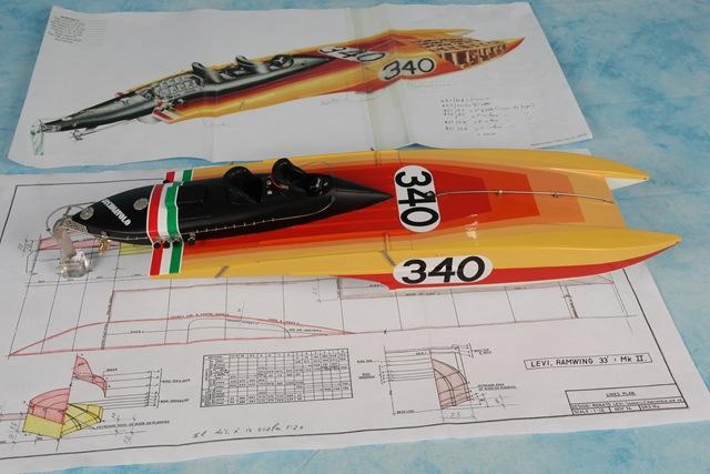 Modellismo: Barca Arcidiavolo realizzata da Leonardo Petroli