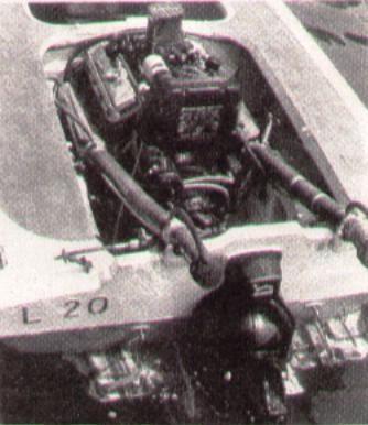 L20 motore trasmissione stern drive
