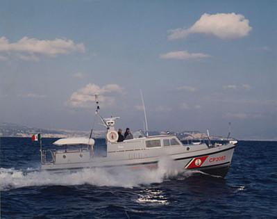 Storia delle Motovedette Capitaneria di Porto tipo Nelson CP 2082