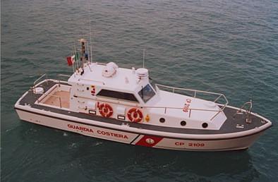 Storia delle Motovedette Capitaneria di Porto tipo Nelson CP 2109