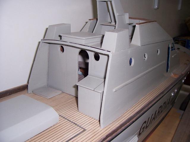 Motovedette classe meattini modellismo for Piani di idee per la costruzione di ponti