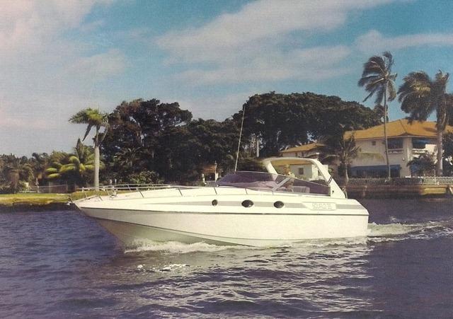 Barca Squalo 35 realizzata da Franco Harrauer