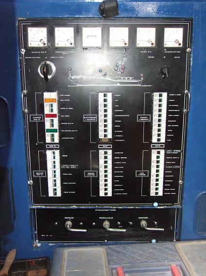Quadro elettrico Motovedetta d'epoca CP 233