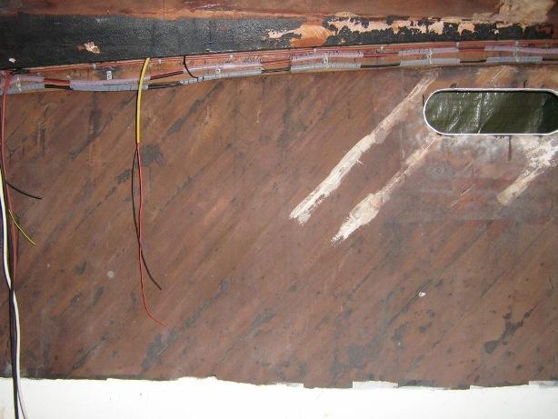 Opera morta, impianto elettrico della barca d'epoca Levi Synthesis