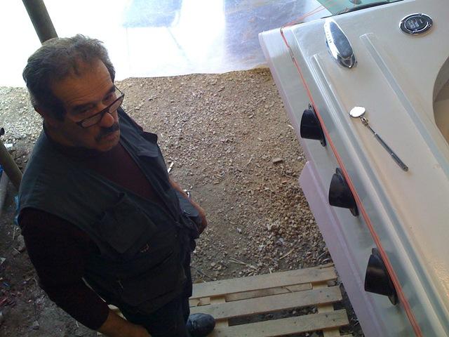 Restauro barca classica Levi - L'aiuto meccanico