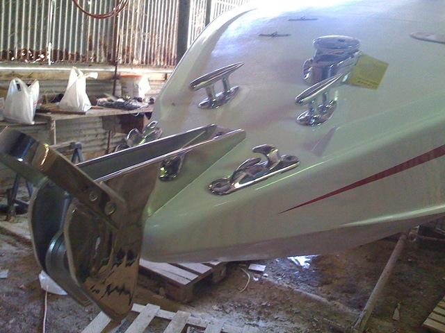 Restauro barca classica Levi: Mini Drago Italcraft