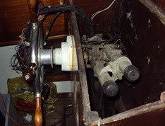 Organo di comando timoni meccanico