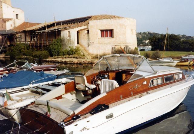 Barca classica Levi Canav Settimo Velo Isabella