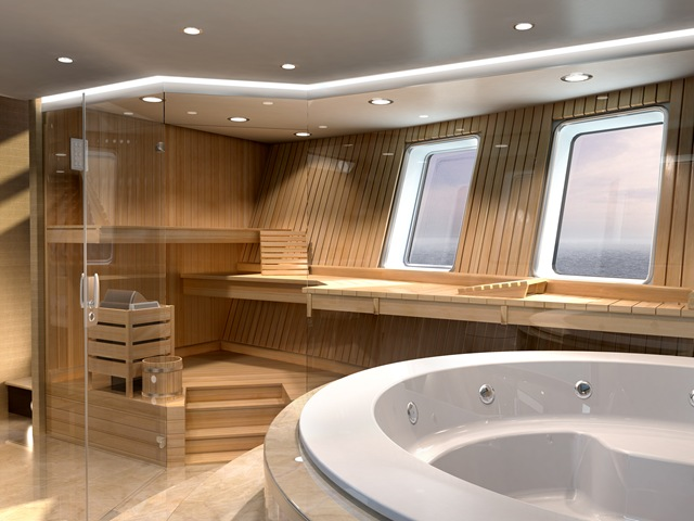 Yacht di lusso summit marine one one one for Cabine di lusso gigantesche
