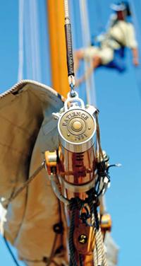 Particolari di restauro Patience yacht