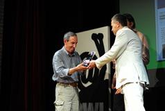 Vincitore PWI 2009 blog - ritira il premio Tito Mancini