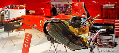 Riproduzione Box Ferrari F1