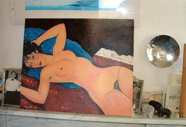 Dipinto di Renato Sonny Levi