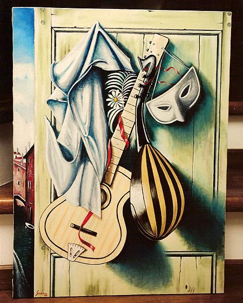 Immagine del dipinto di Sonny Levi
