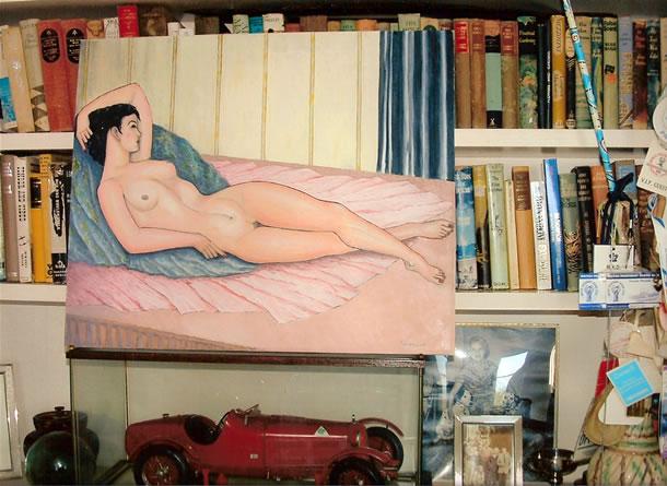 L'artista pittore, Renato Sonny Levi