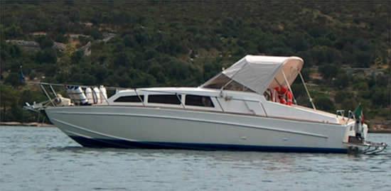 Barca Classica Delta 28 Cantieri Delta su disegni dell'Ing. Renato