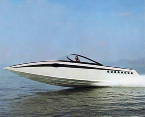 Imbarcazione classica Italcraft MiniDrago carena Step Drive Levi