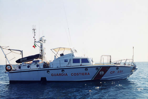CP 231 Guardia Costiera